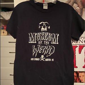 black museum of the weird t shirt